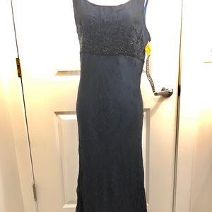 Full length beaded Nostalgia dress